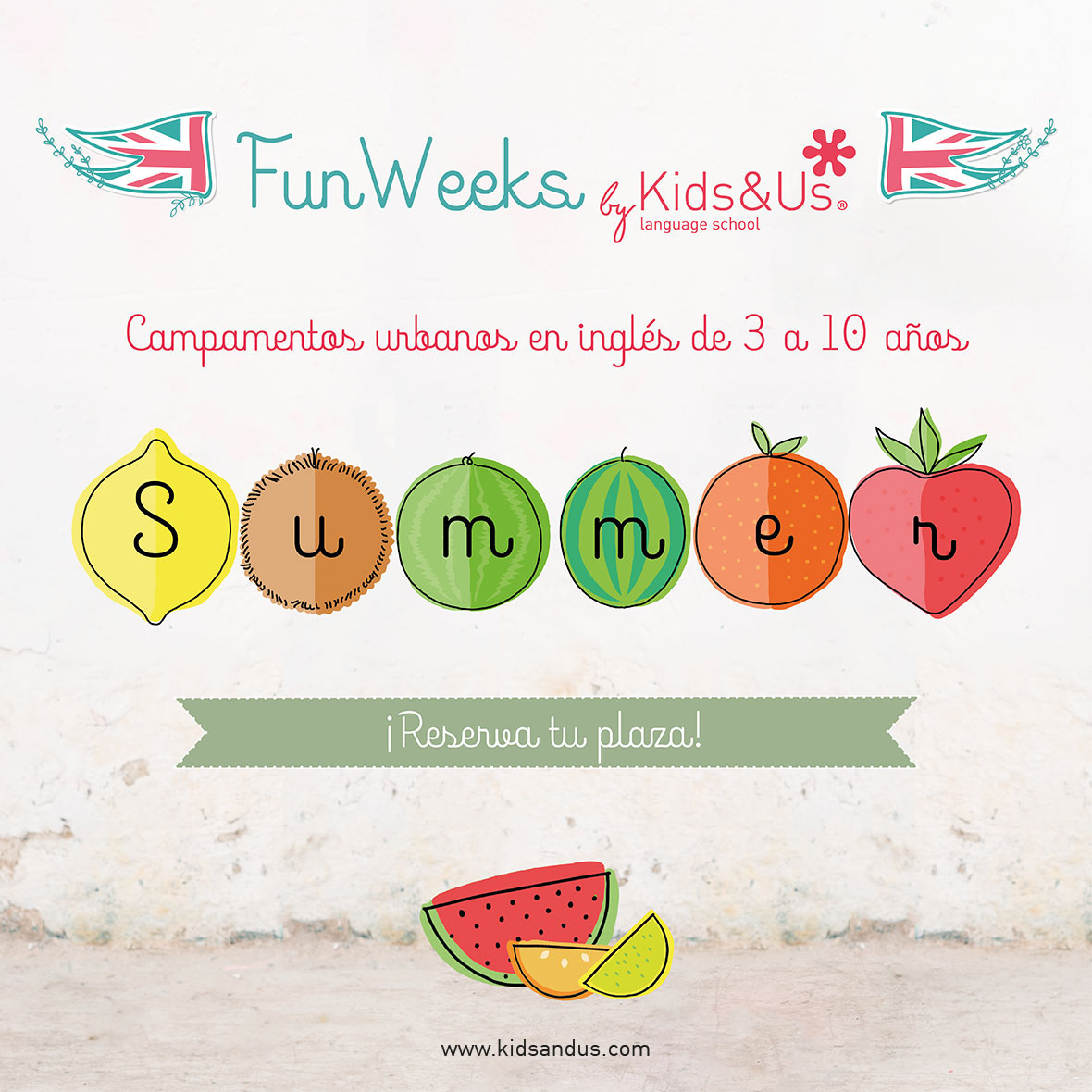 ¡Vuelven las Summer Fun Weeks de Kids&Us
